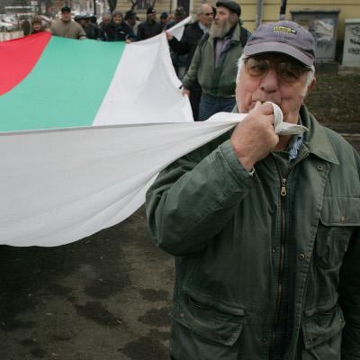 """Протест пред Борисов: """"Стига мизерия, искаме европейски пенсии"""""""