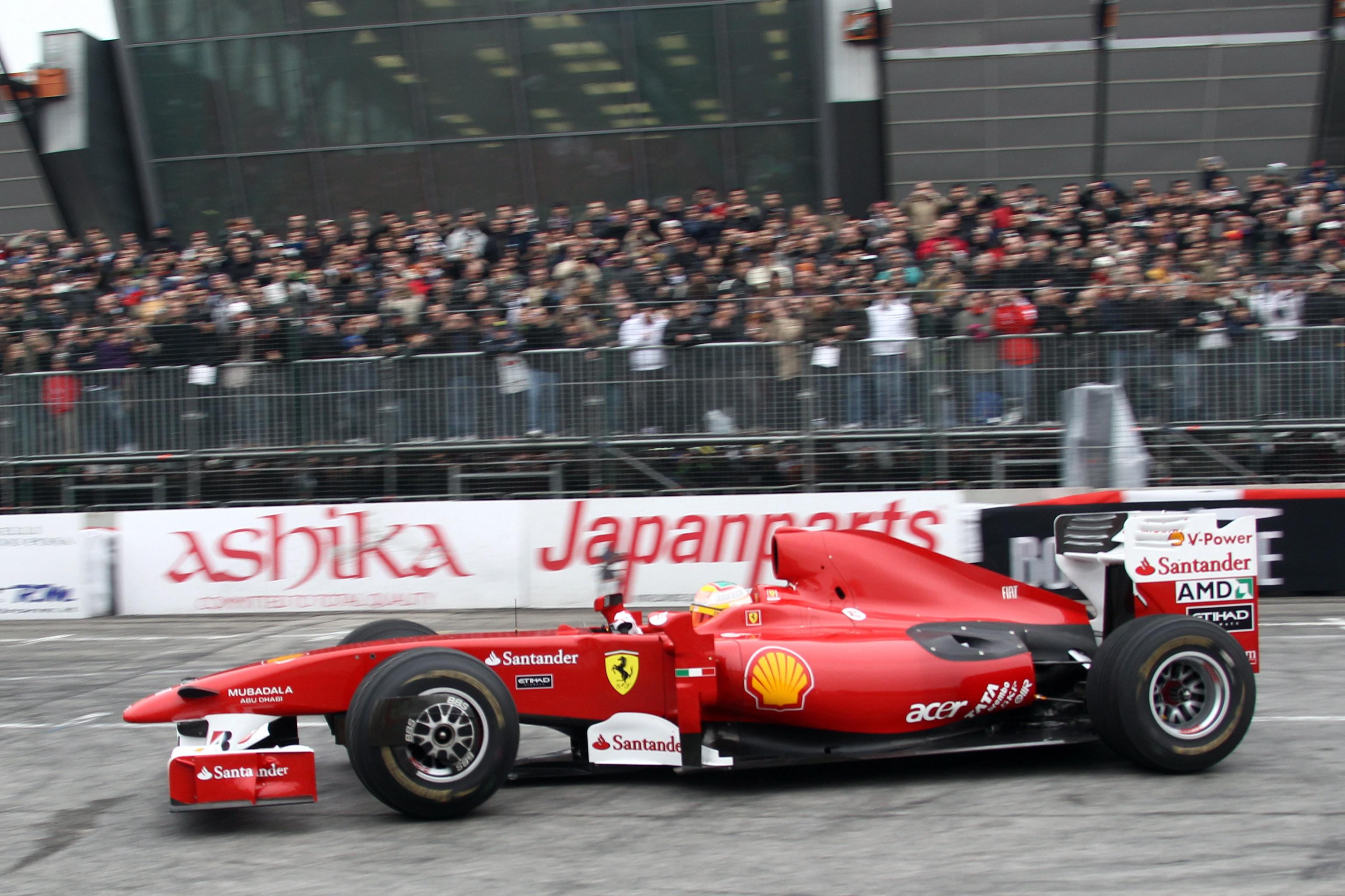 Ферари представя болида си за новия сезон на 3-и февруари