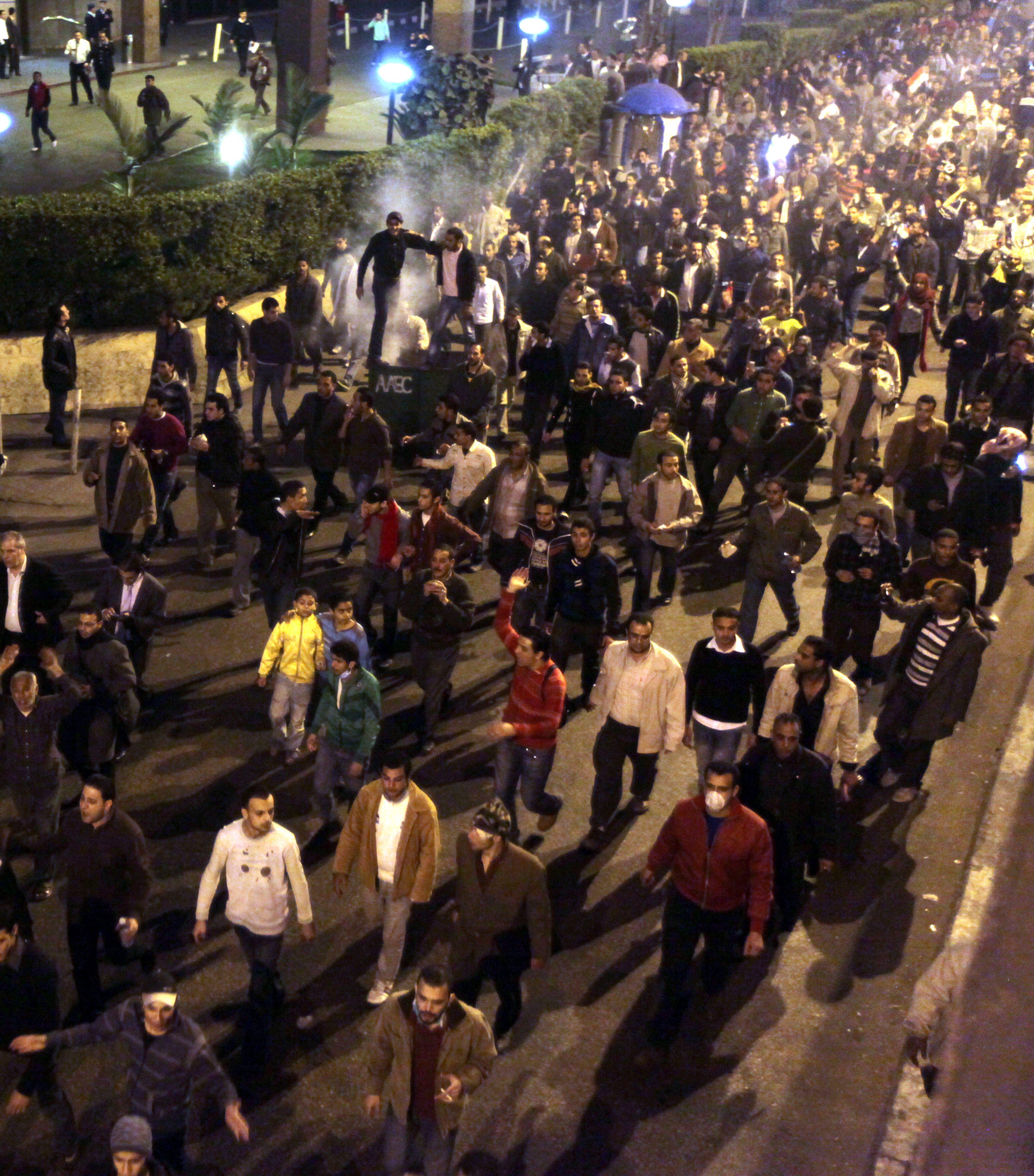 Хиляди затворници избягали в Египет