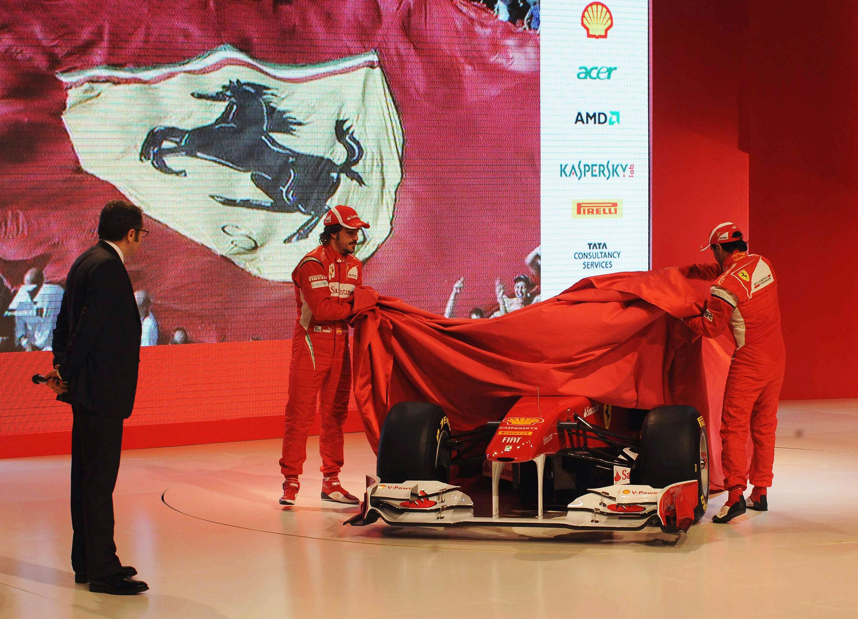 Ферари представи новия си болид F150