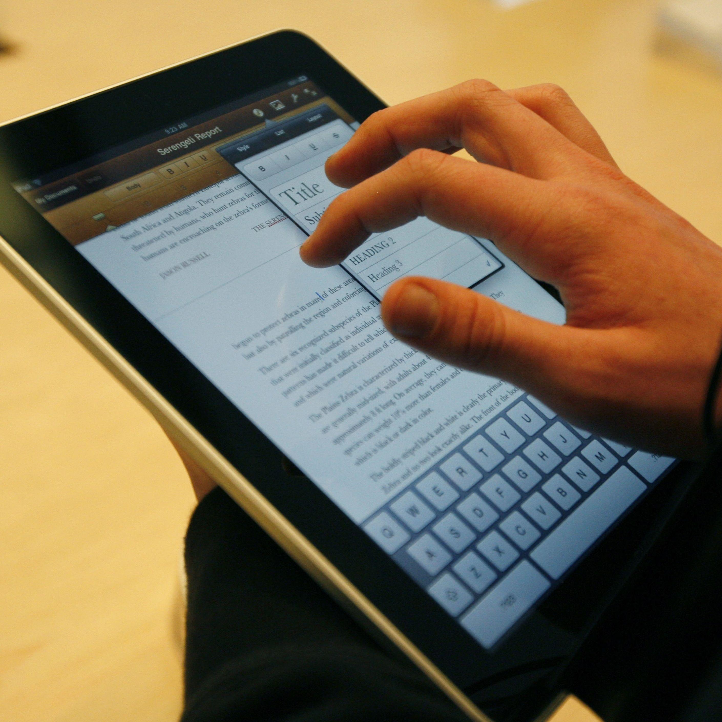 Президентски син влезе в Гинес с iPad