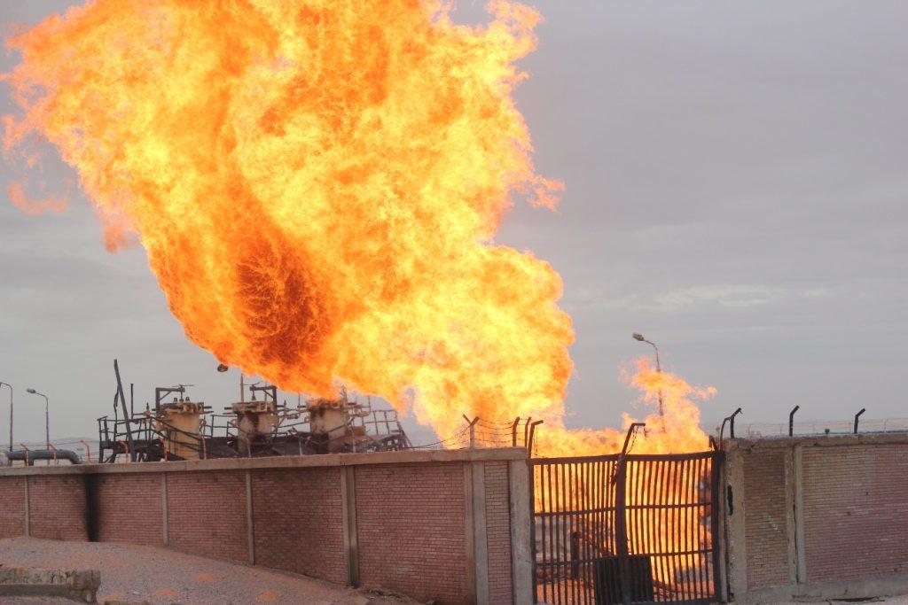 Взривиха газопровод в Египет