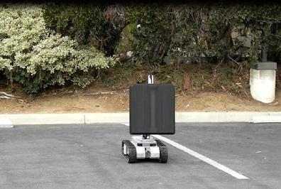 """Военен робот """"вижда"""" хора през стени"""