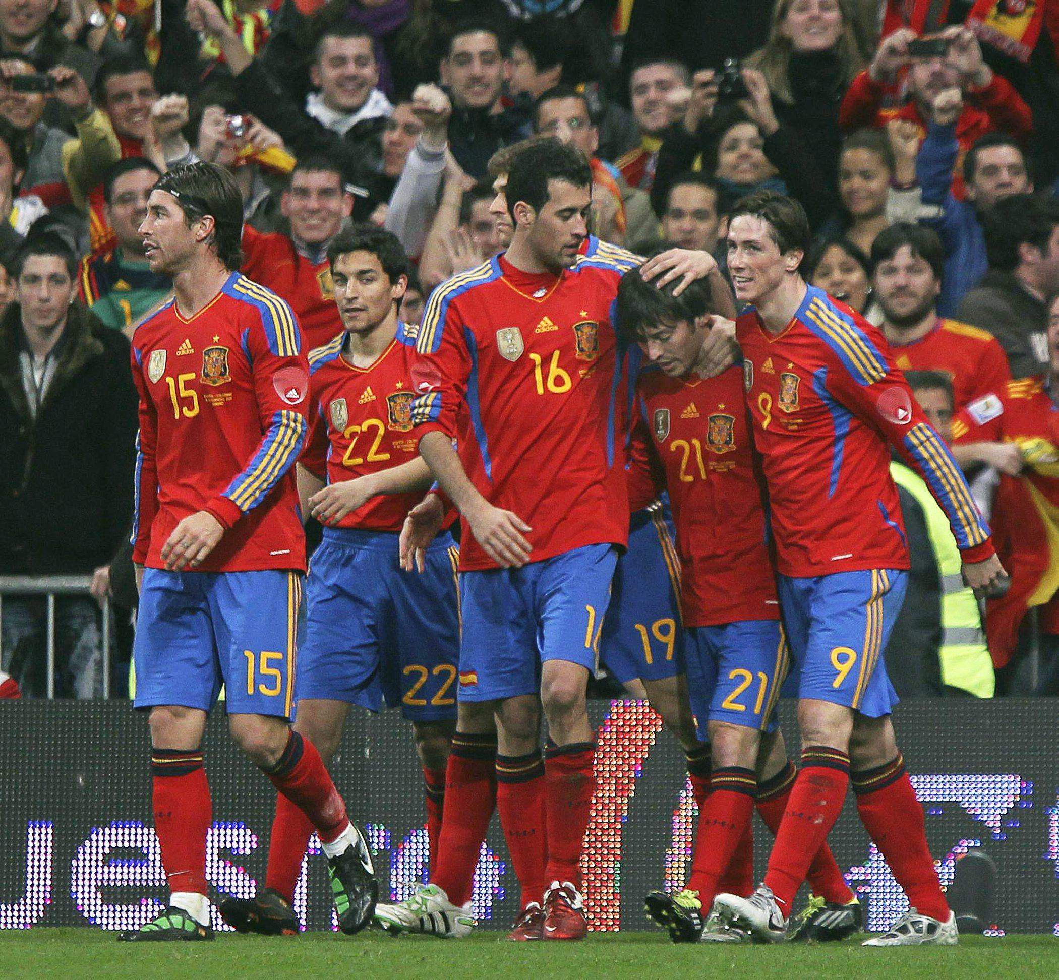 Испания се готви у нас за Евро 2012?