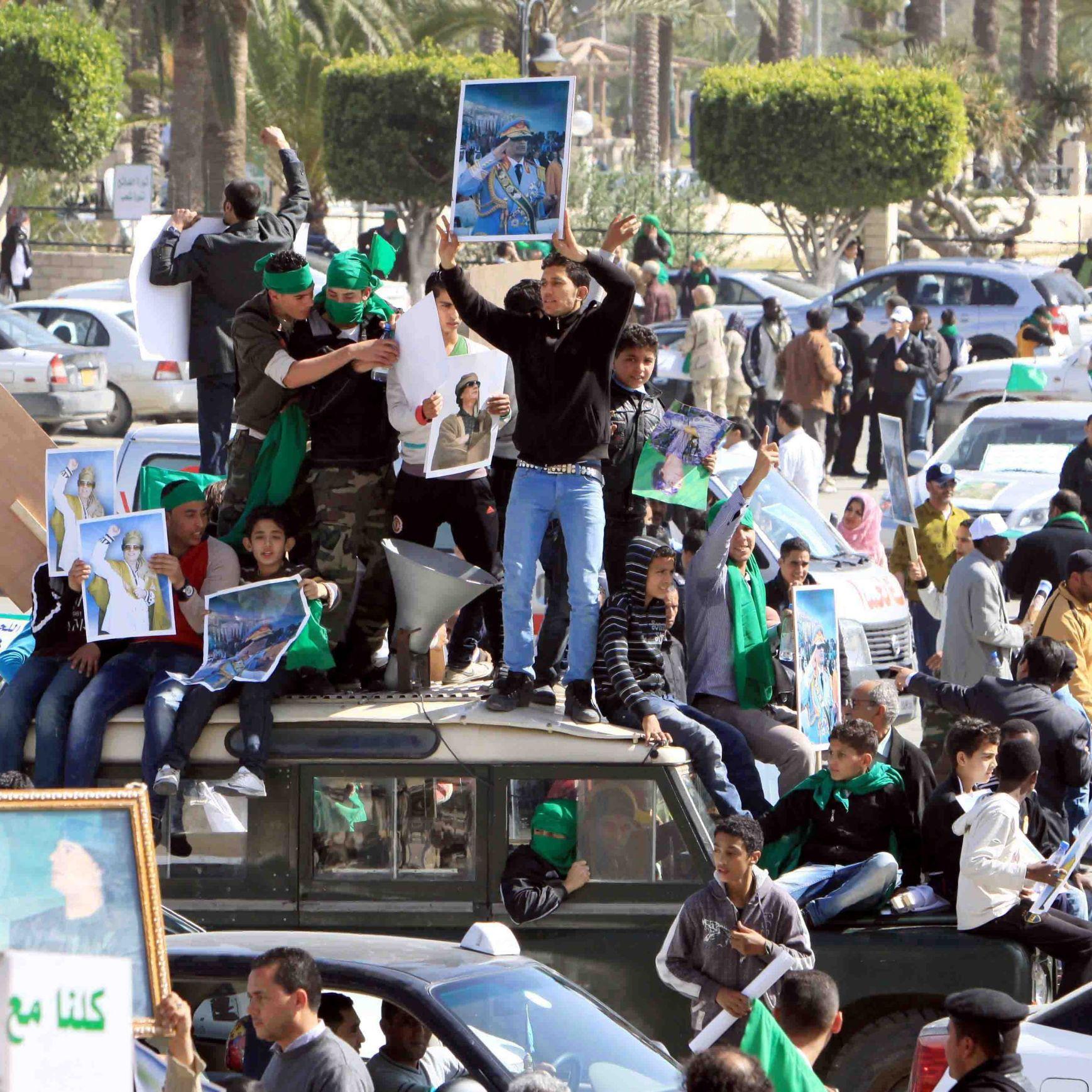 Част от Либия вече е извън контрола на властта
