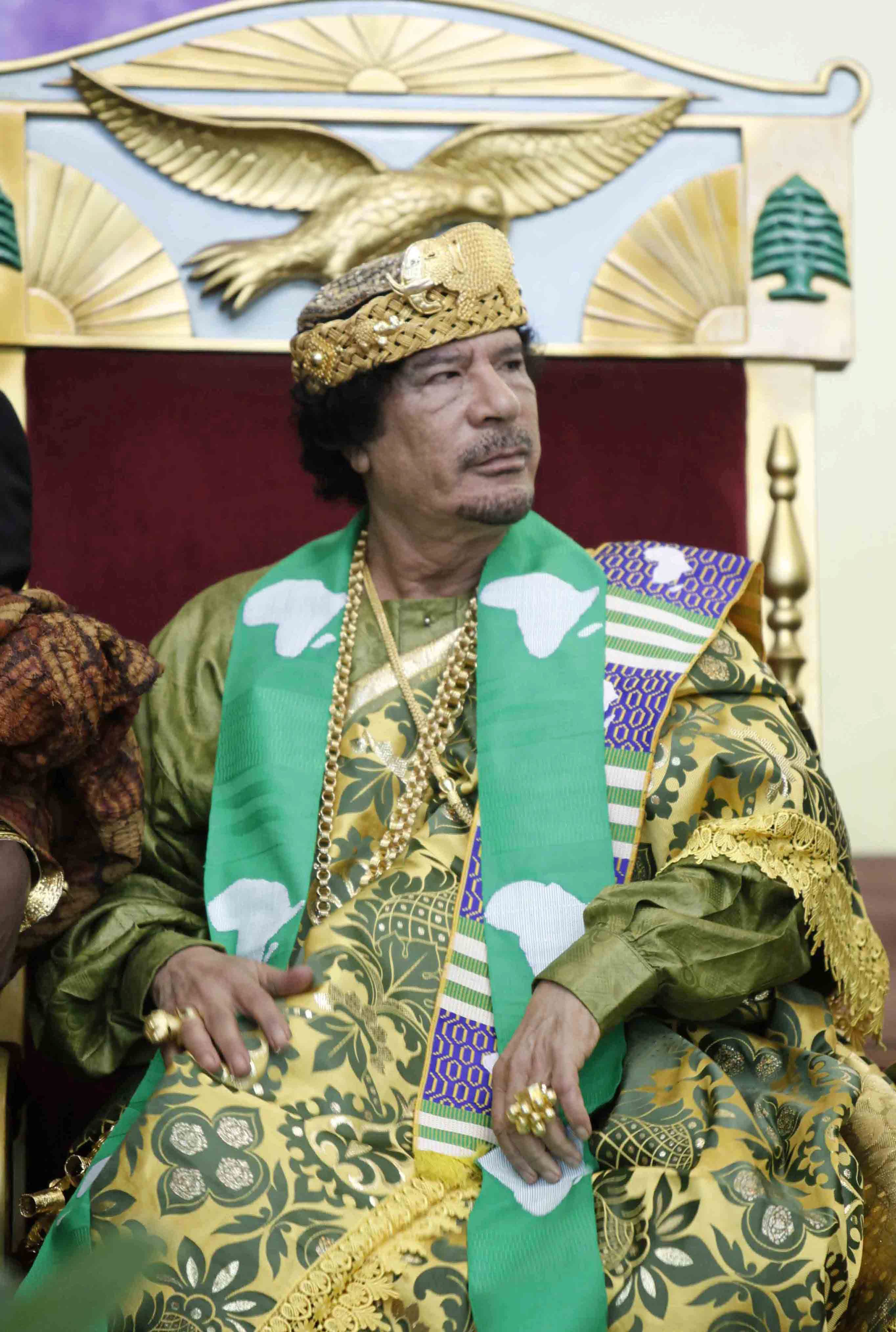 Кадафи даде ексклузивно интервю по сръбската тв Пинк