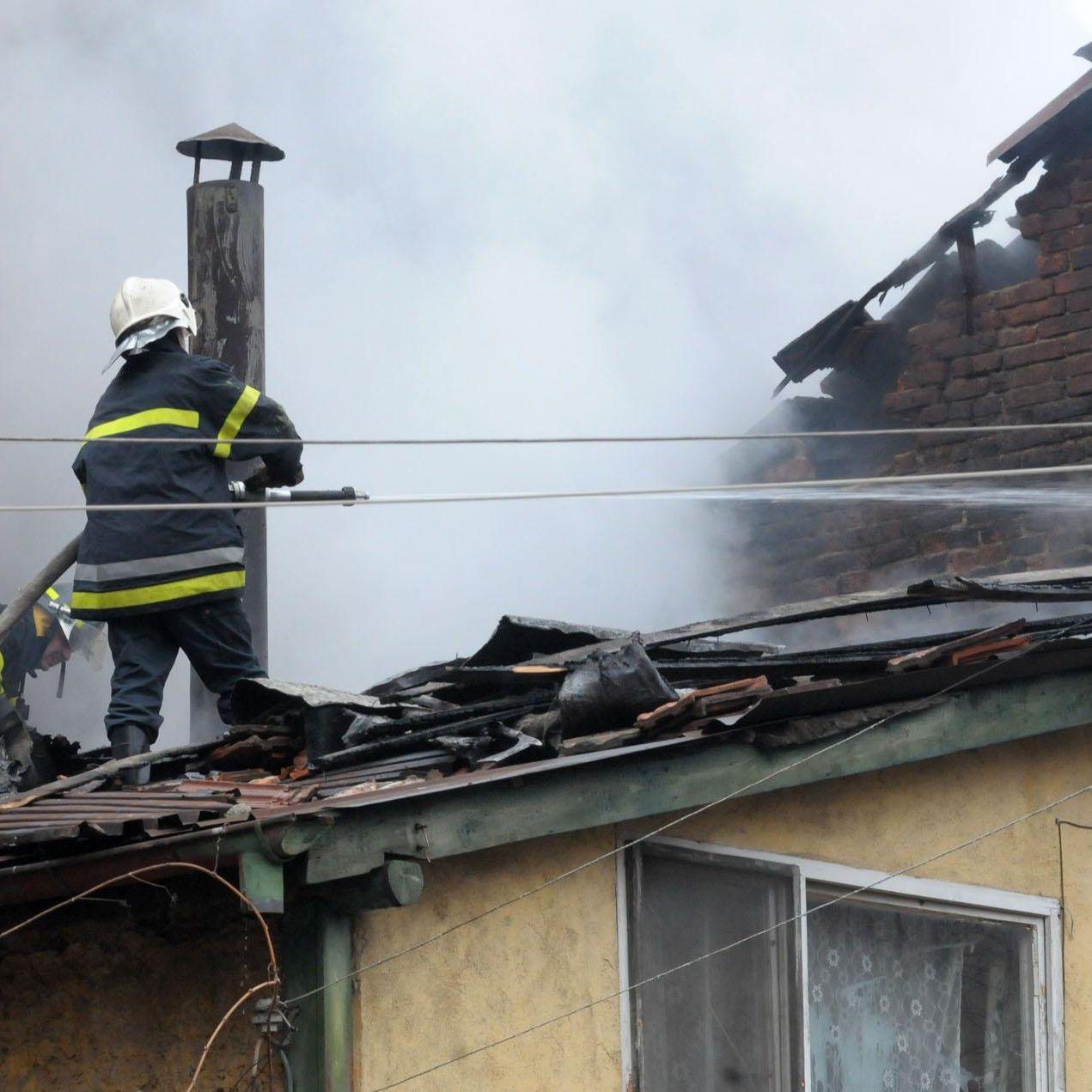 "Пожар в къща в ""Лозенец"""