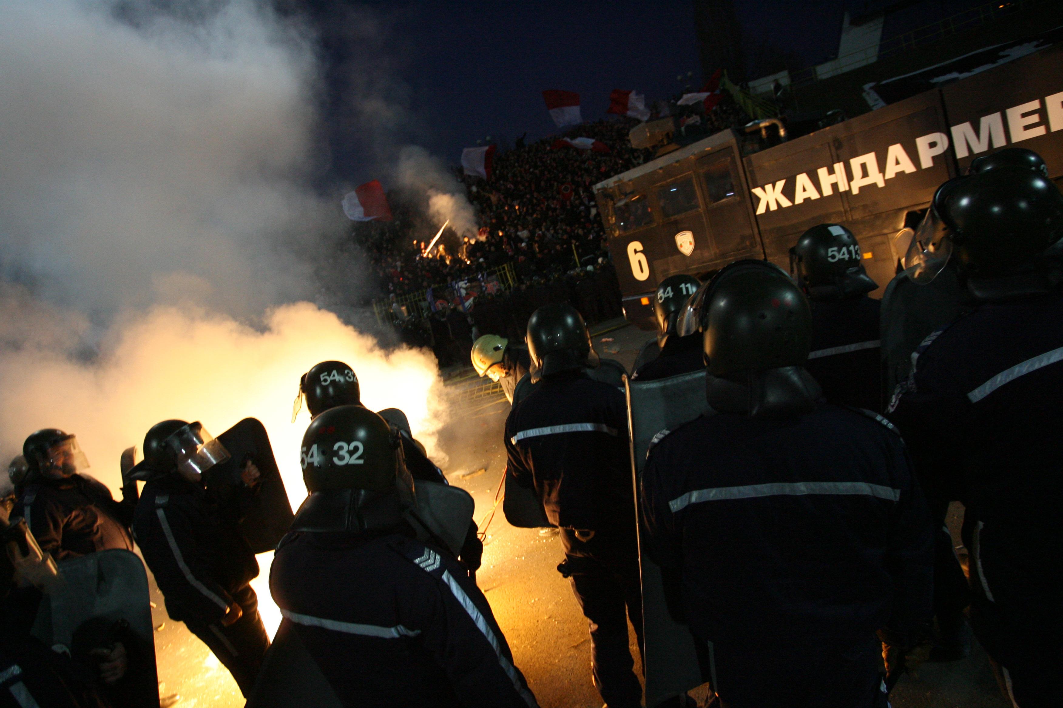 Полицията скочи срещу БФС