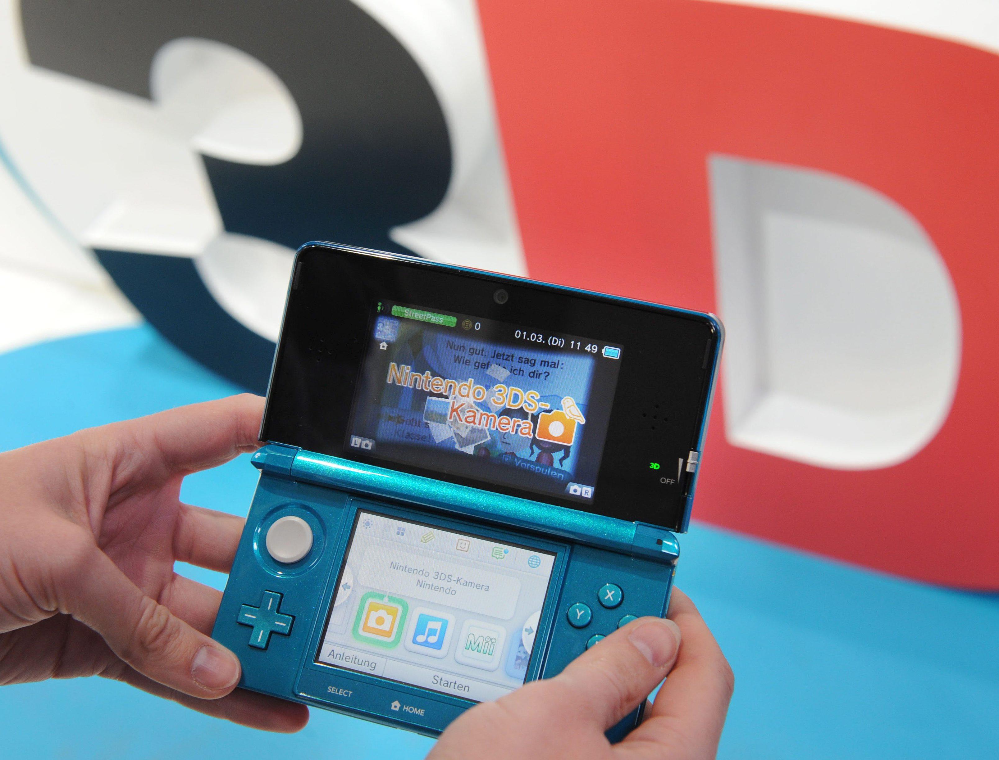 Nintendo представи 3DS в Европа