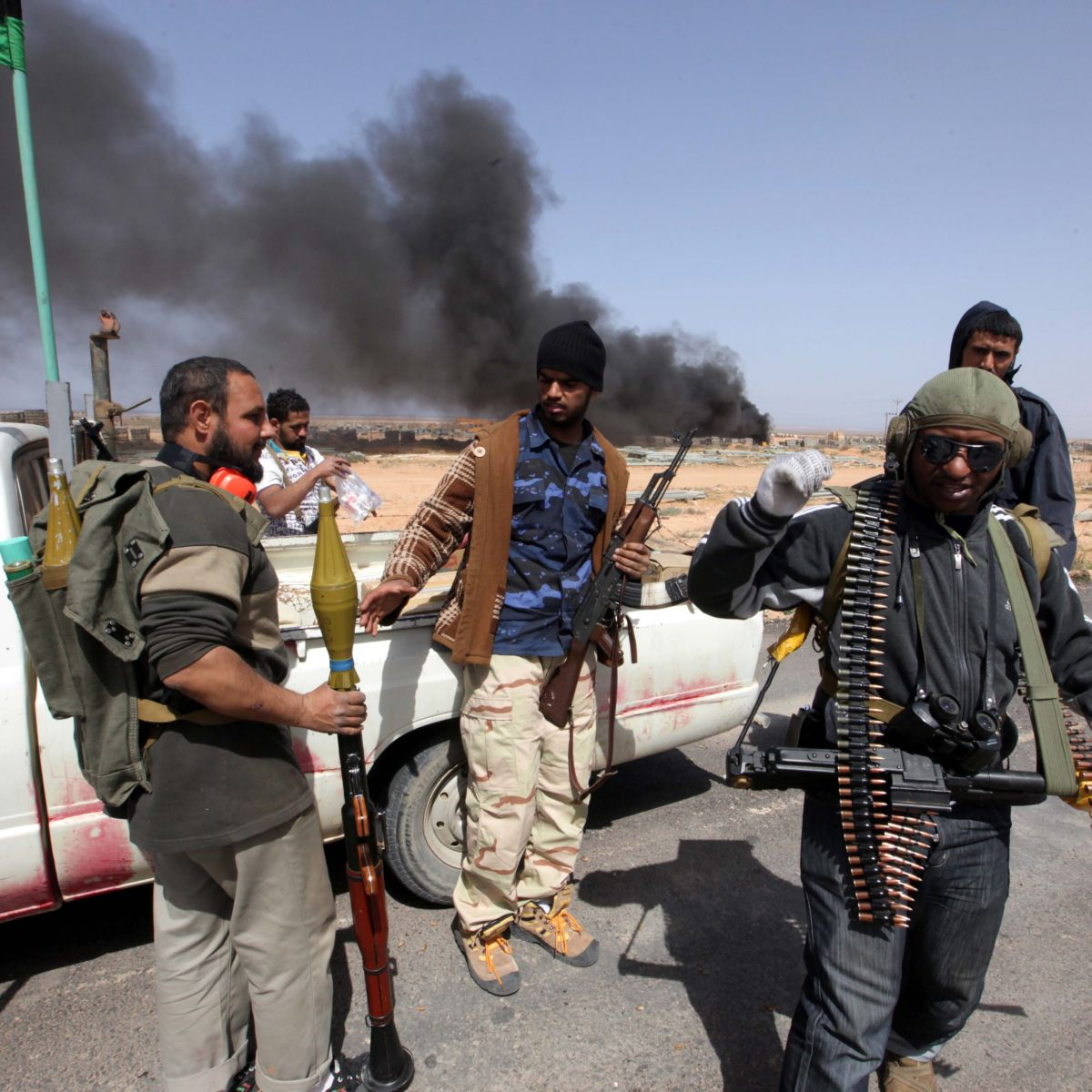 Либийските бунтовници: НАТО ни удариха погрешка