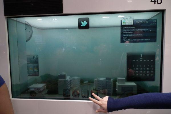 Пускат прозрачни LCD панели