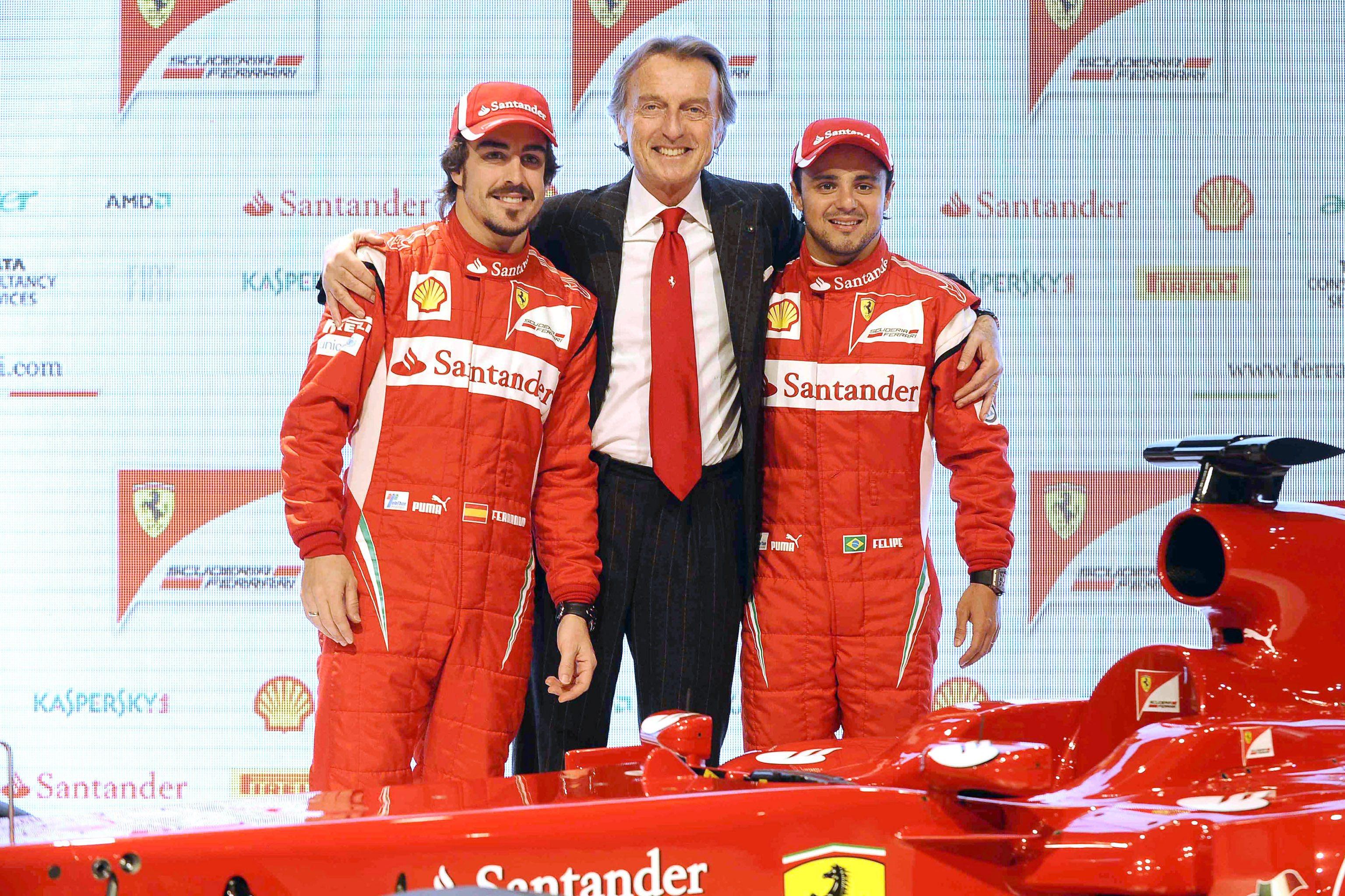 Ферари вади отбора от Формула 1 през 2012