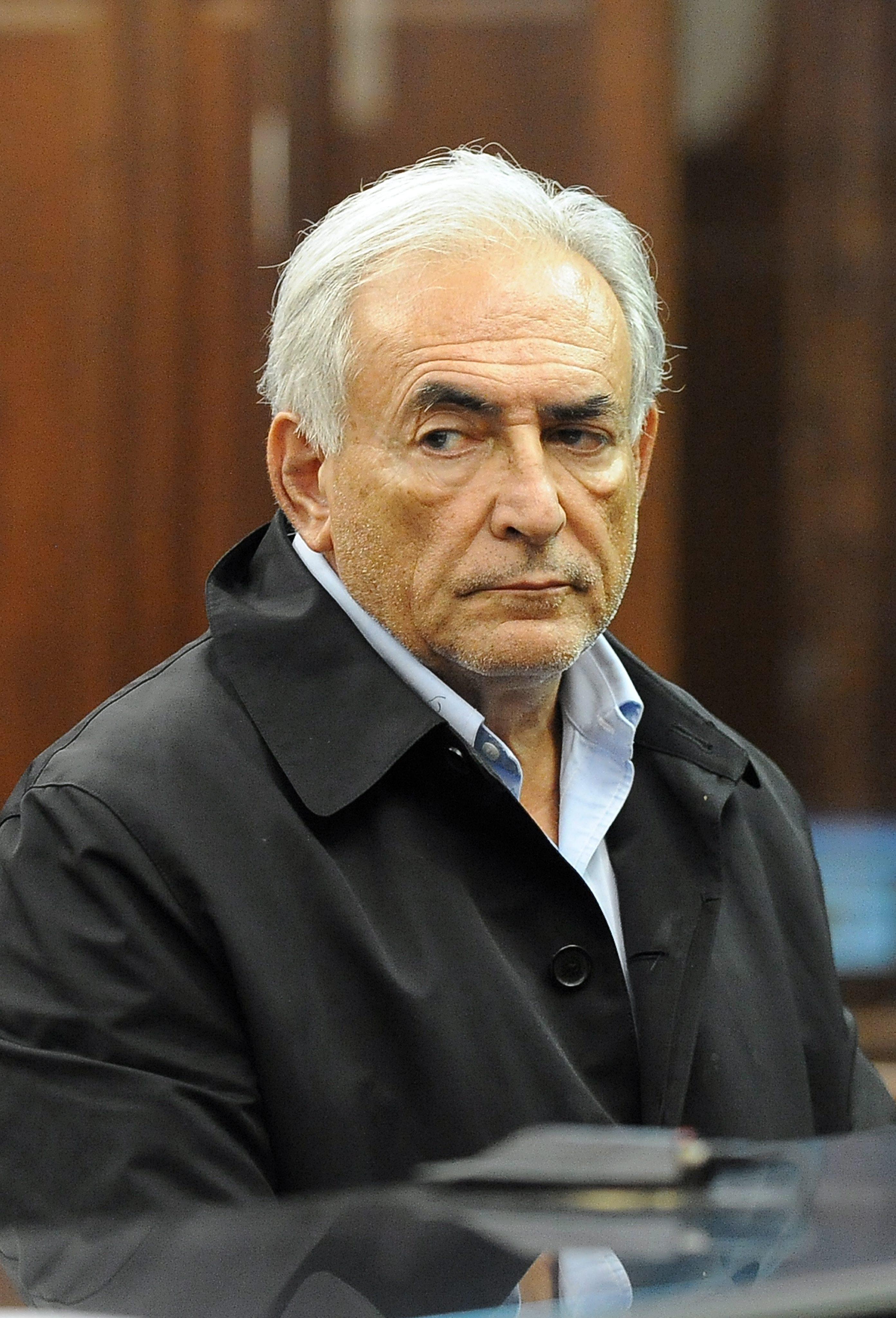 Строс-Кан подал оставка с омерзение