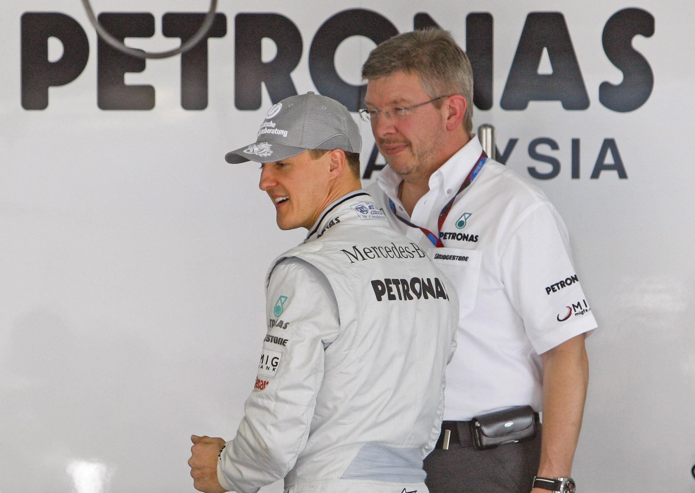 Рос Браун: Шумахер ще подобри формата си