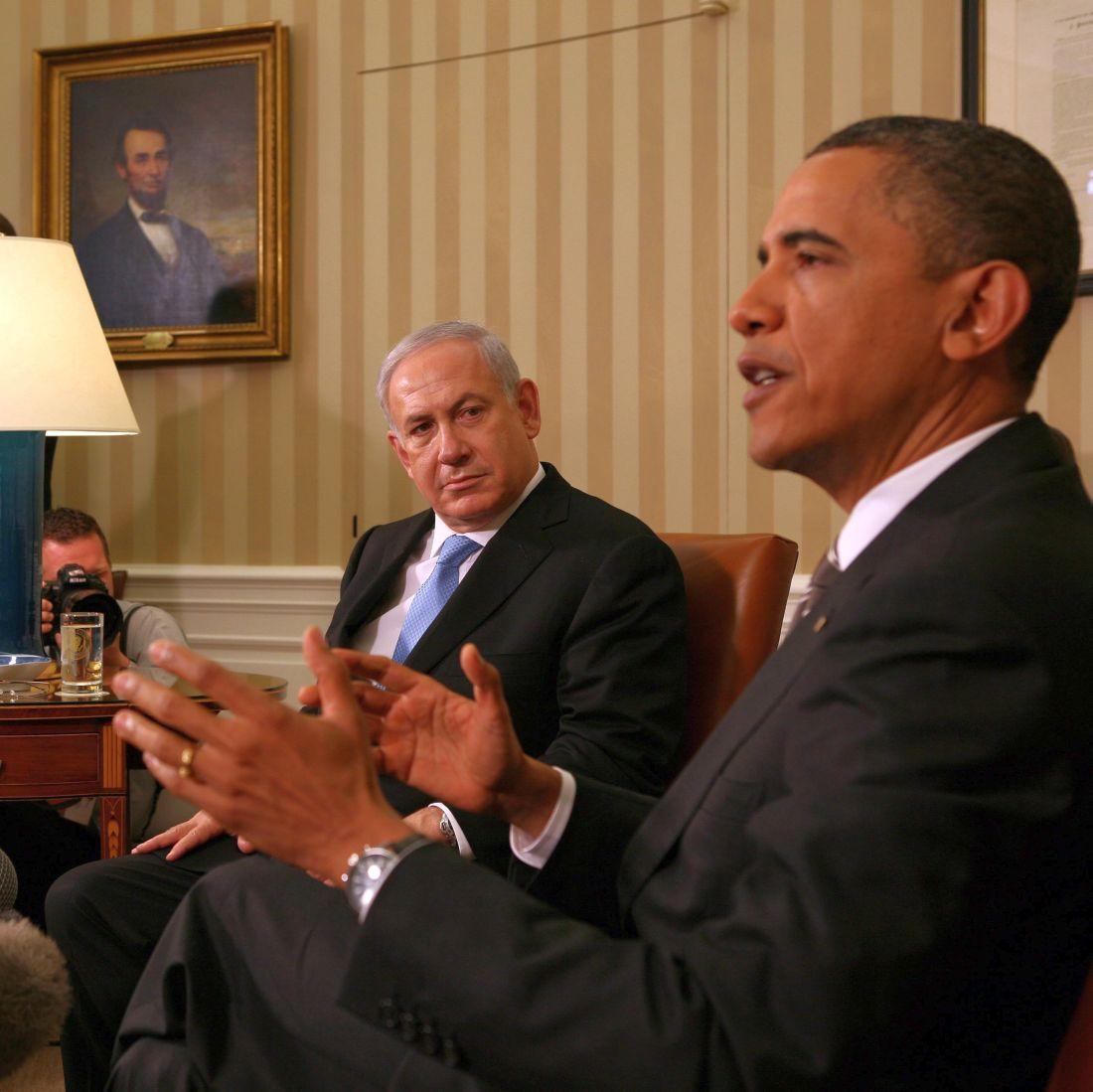 Нетаняху отхвърли план на Обама за границите на Израел
