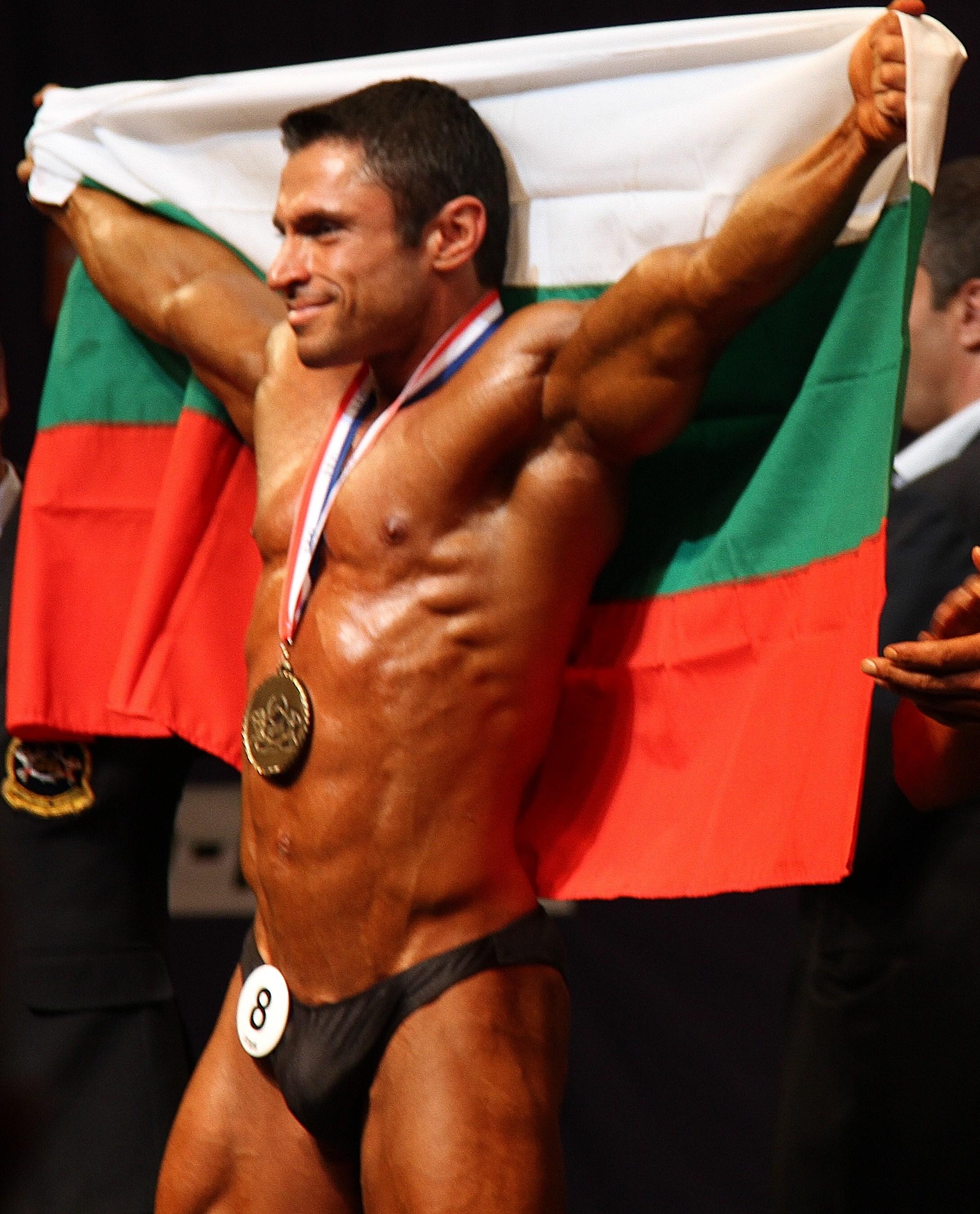 България има европейски шампион по културизъм