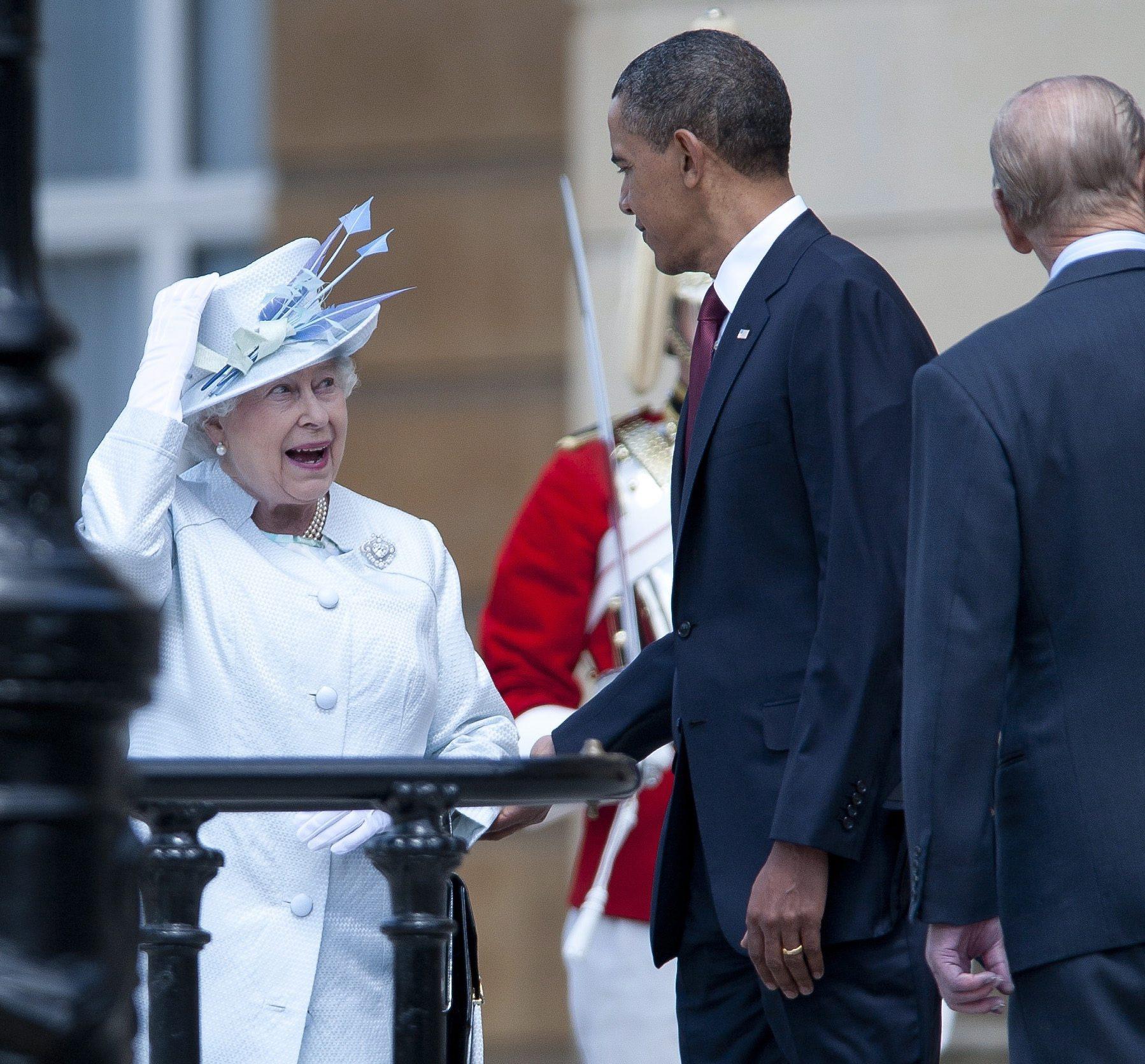 61 топовни салюта в Лондон в чест на Обама