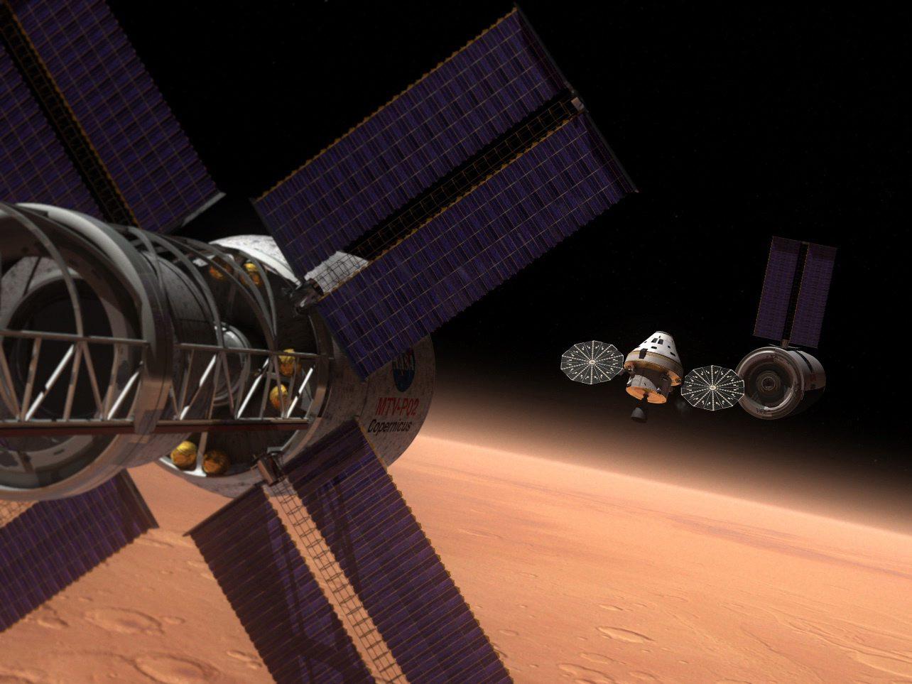 Европа ще участва в създаването на кораб за Марс