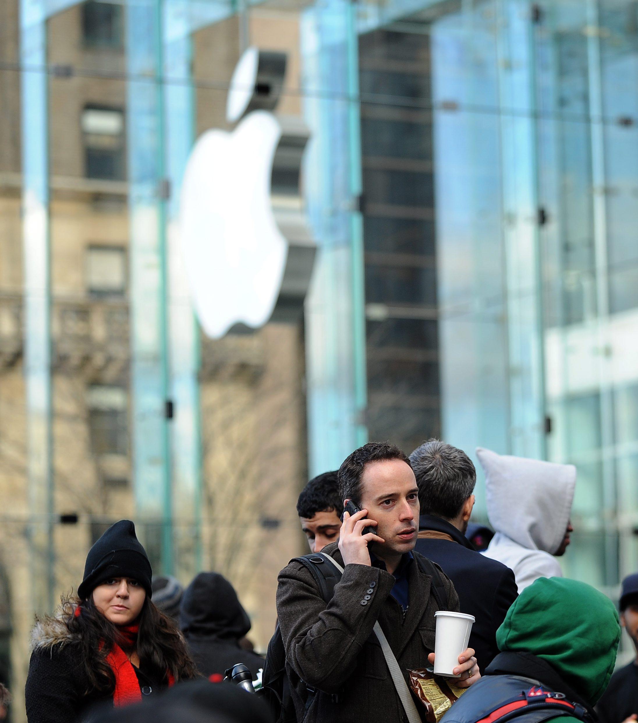 Apple отваря най-големия си магазин в Китай