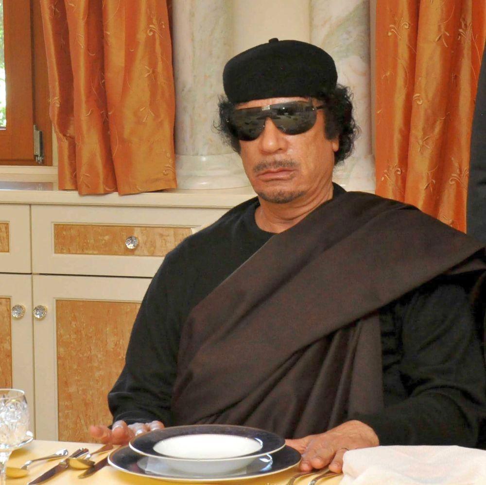 Къде се крие Кадафи Призрака?