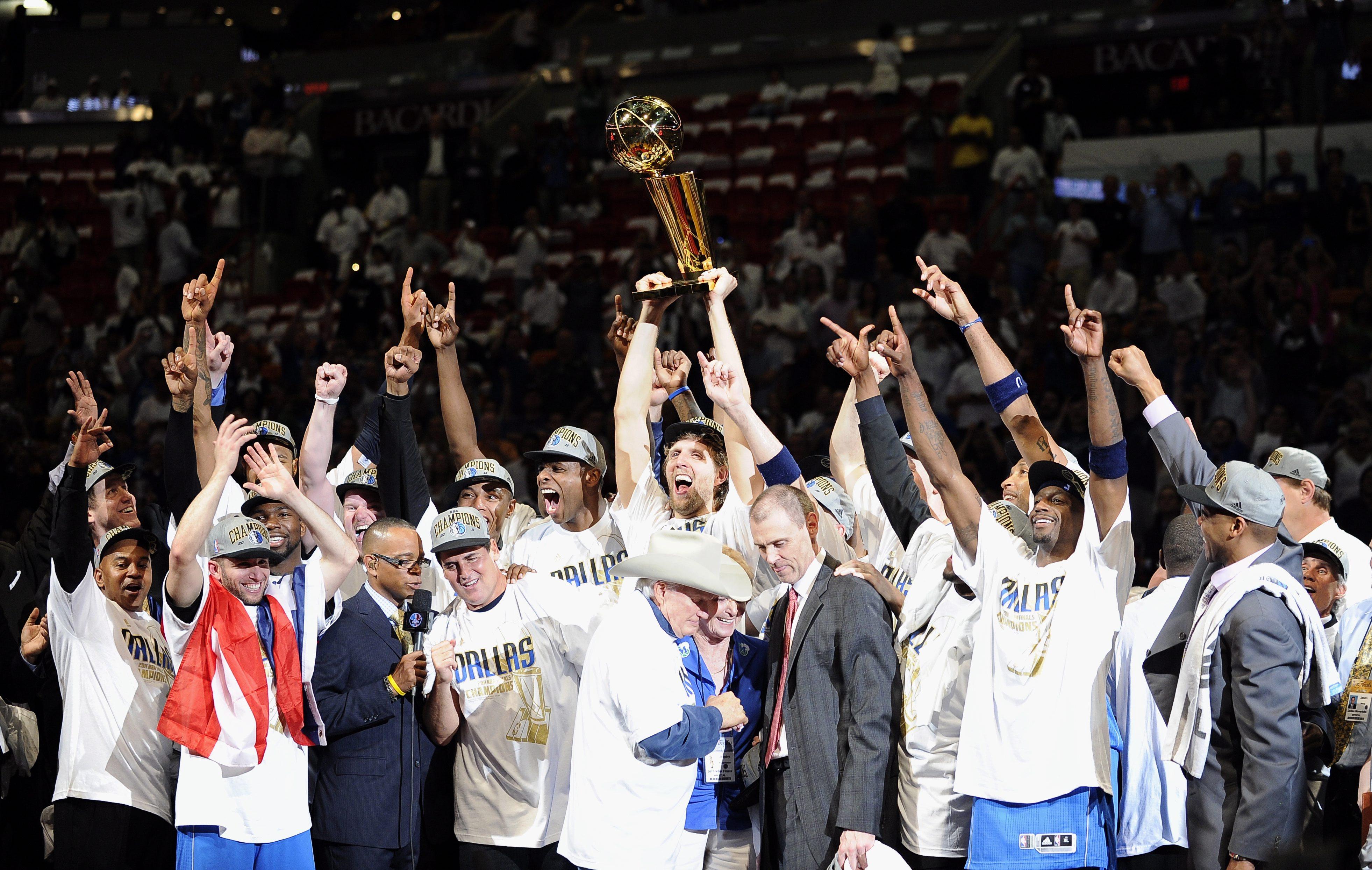 Далас Маверикс спечели историческа първа титла в НБА