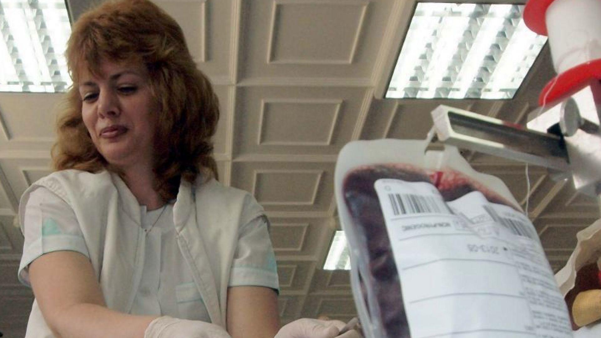 Кръводарителска акция за ранените край Своге