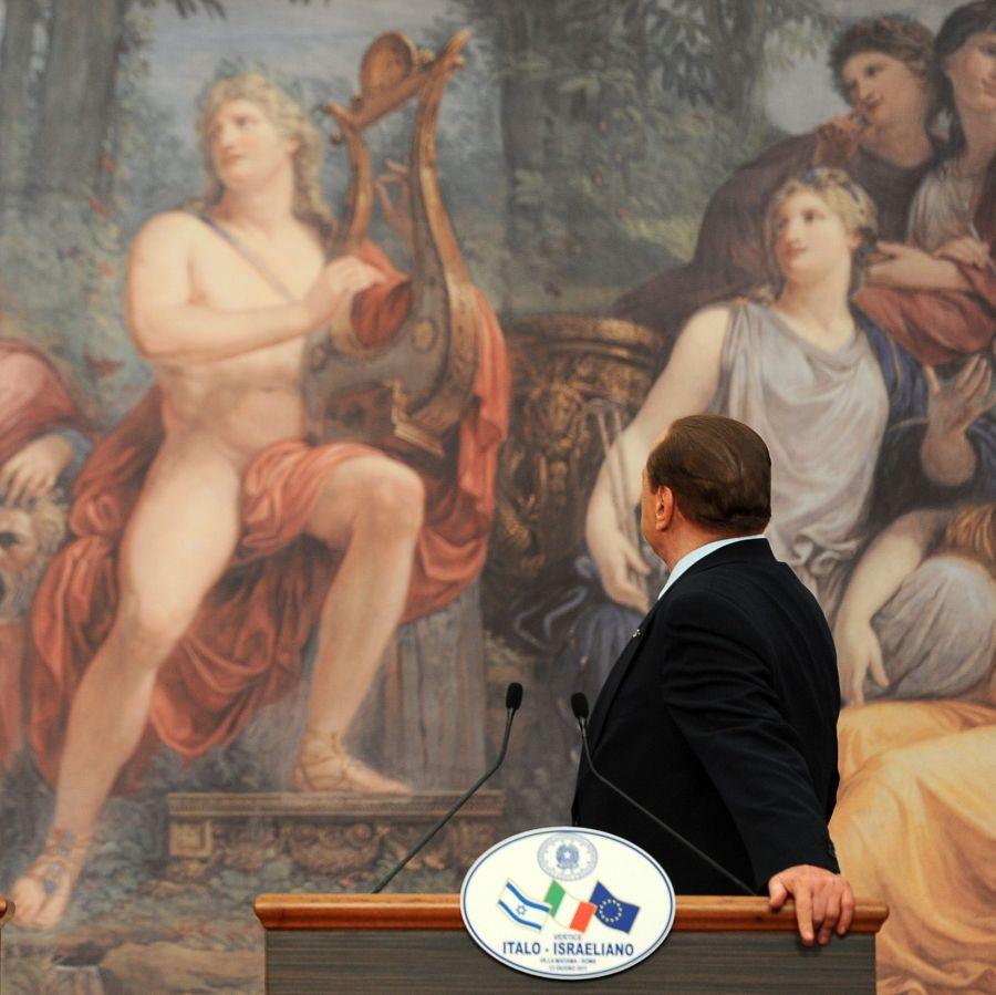 """Берлускони преименува партията си в """"Напред, котенца"""""""