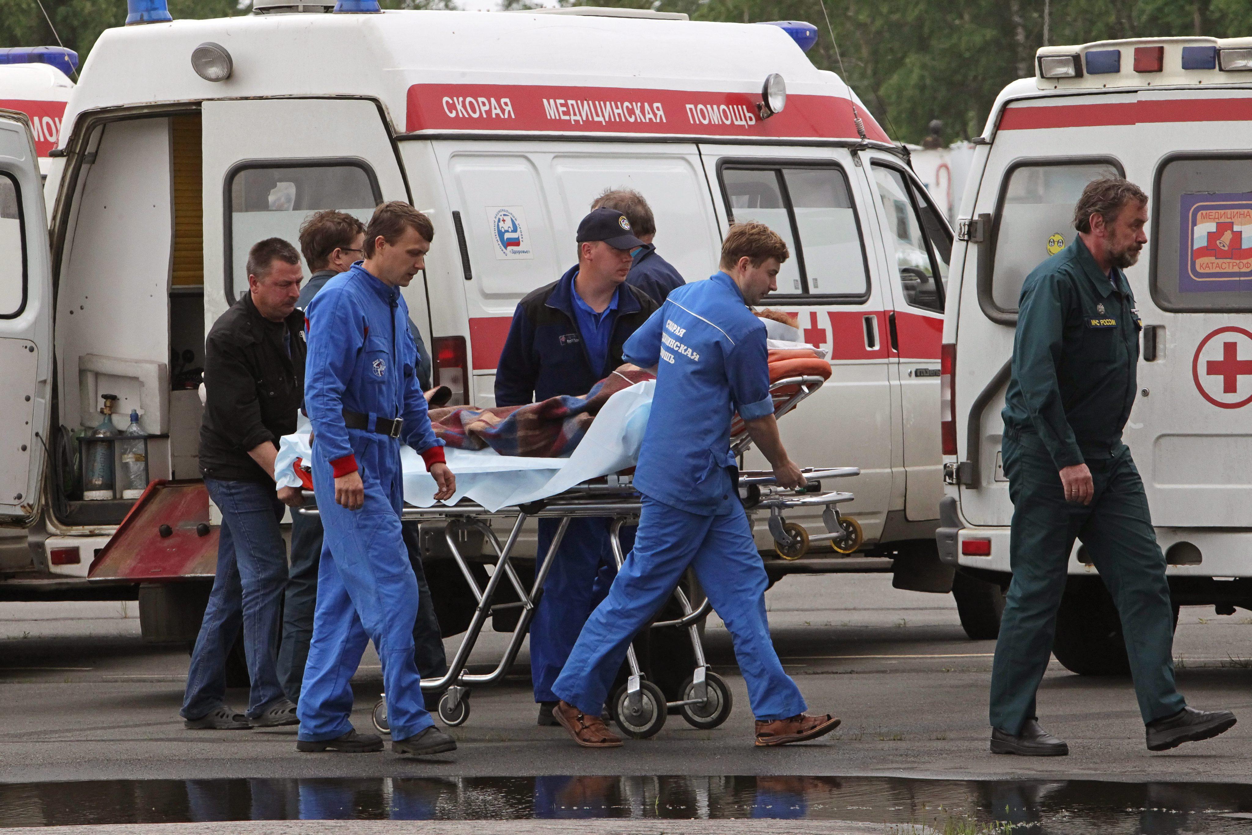 15 ранени при принудително кацане на самолет в Русия