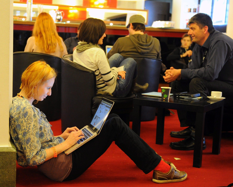 Германците са най-пасивни в социалните мрежи
