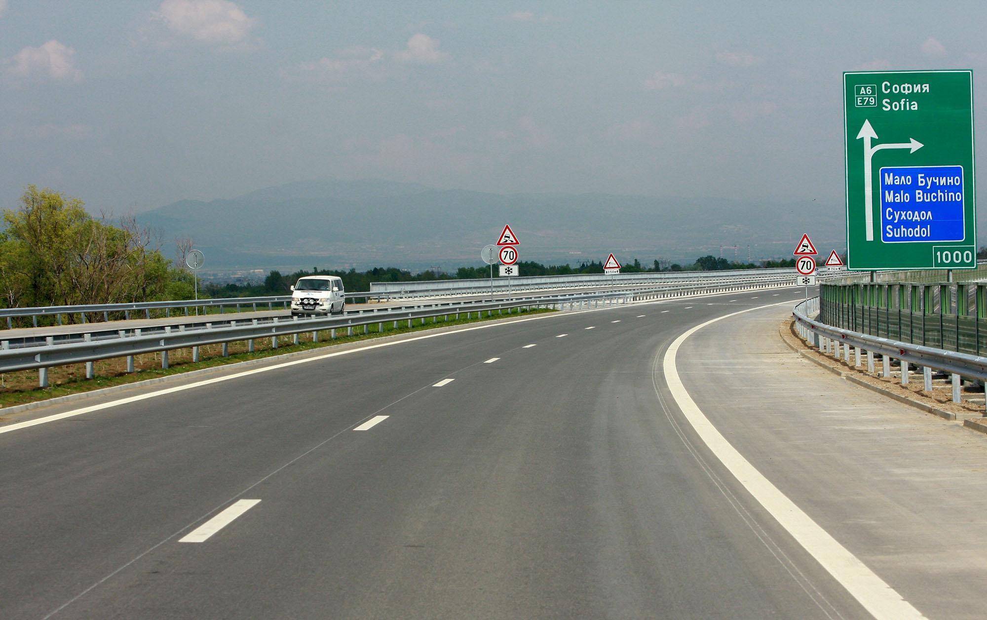 Разрешават 140 км/час по магистрала, но само в новите участъци