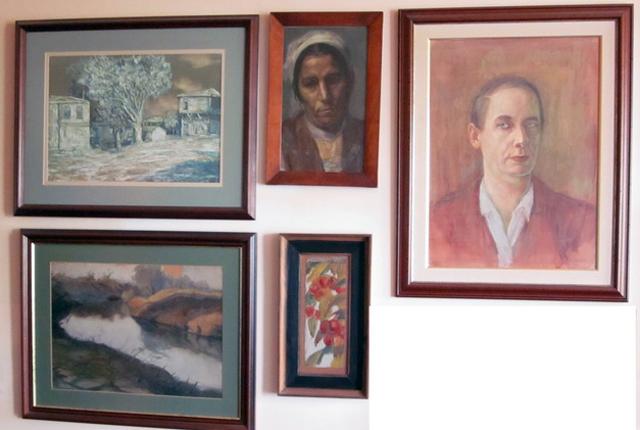 Хванаха лихвари с 13 картини на Дечко Узунов и Васил Стоилов