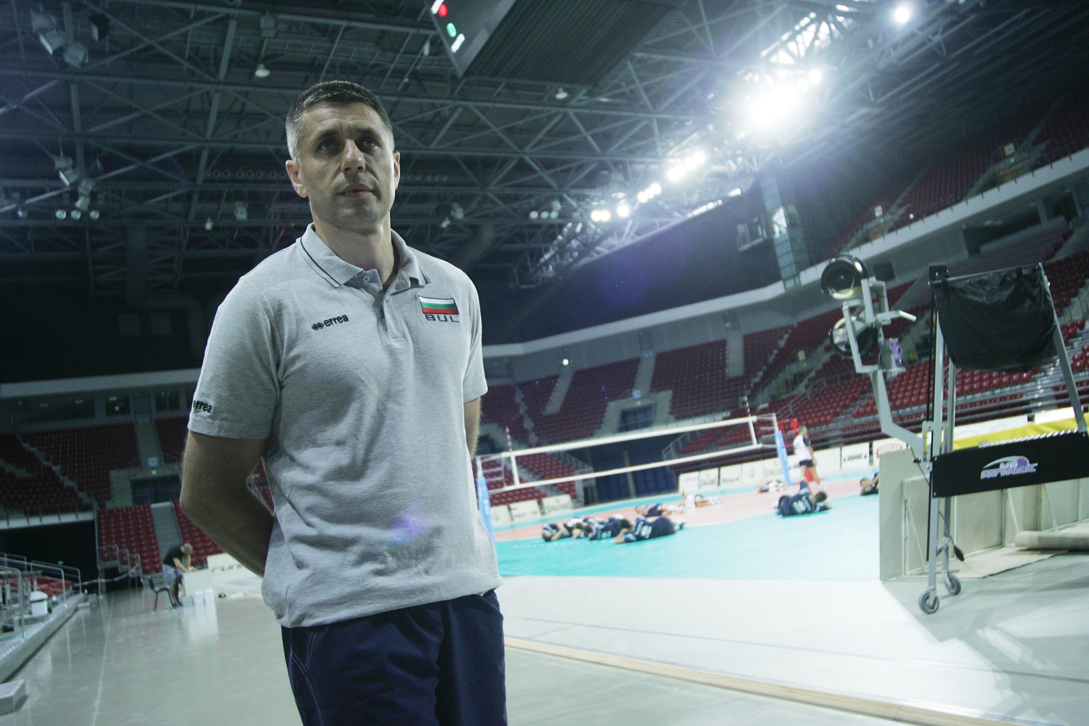 Радо Стойчев: Няма място за сантименти, интересува ме само победата