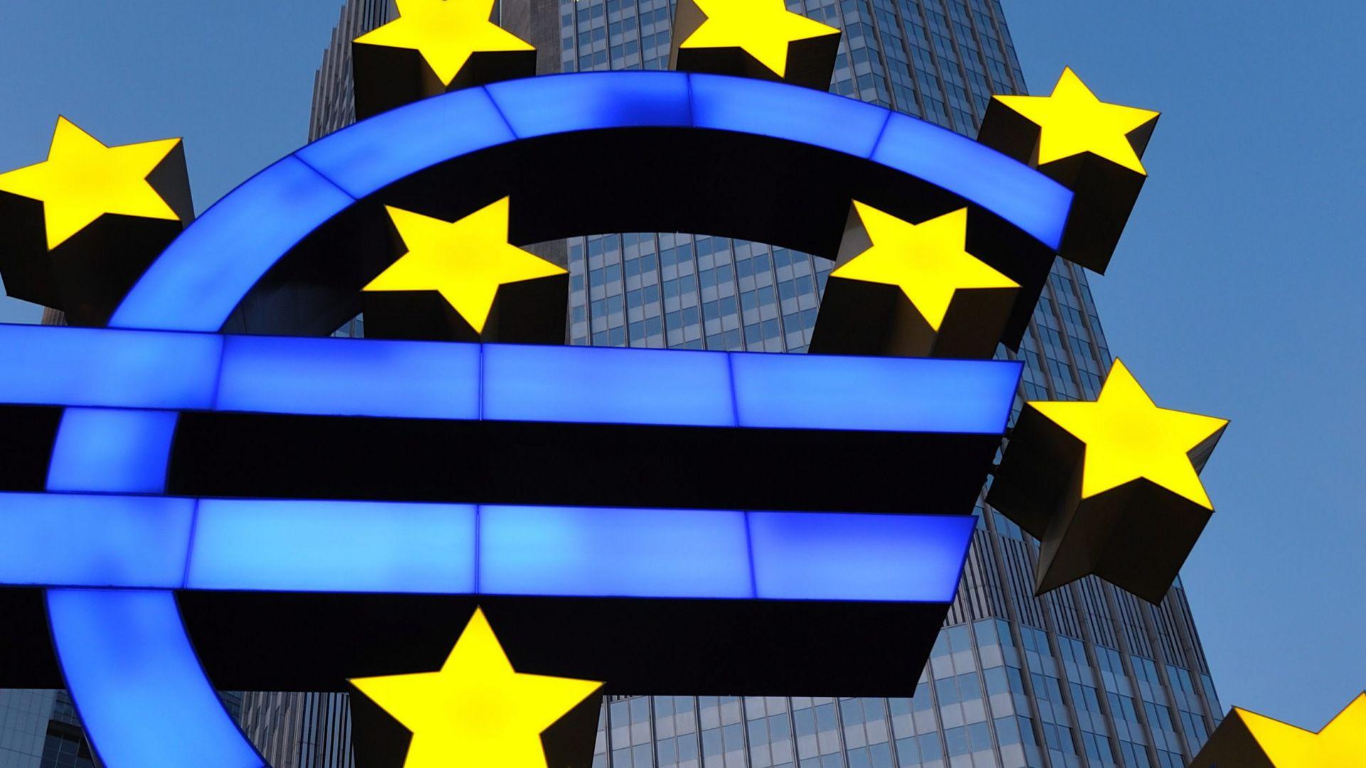 Бизнес активността в еврозоната на най-ниско дъно от 2 г.