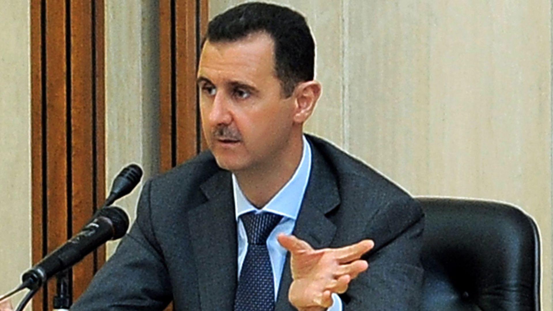 Башар Асад прати сина си в Румъния на олимпиада по математика