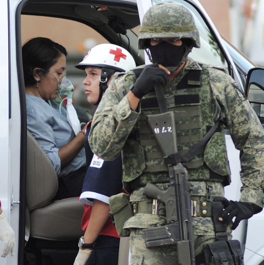 Нападение на казино в Мексико, десетки загинали