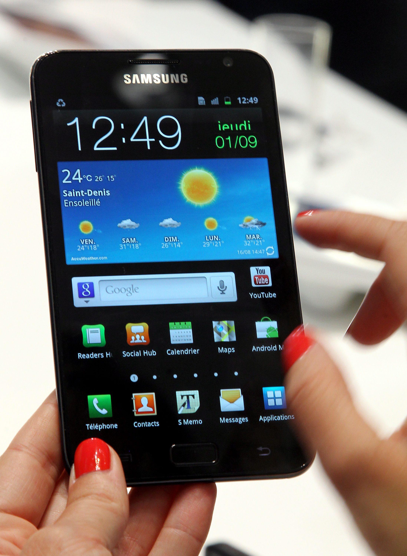Galaxy Note II ще има гъвкав дисплей?
