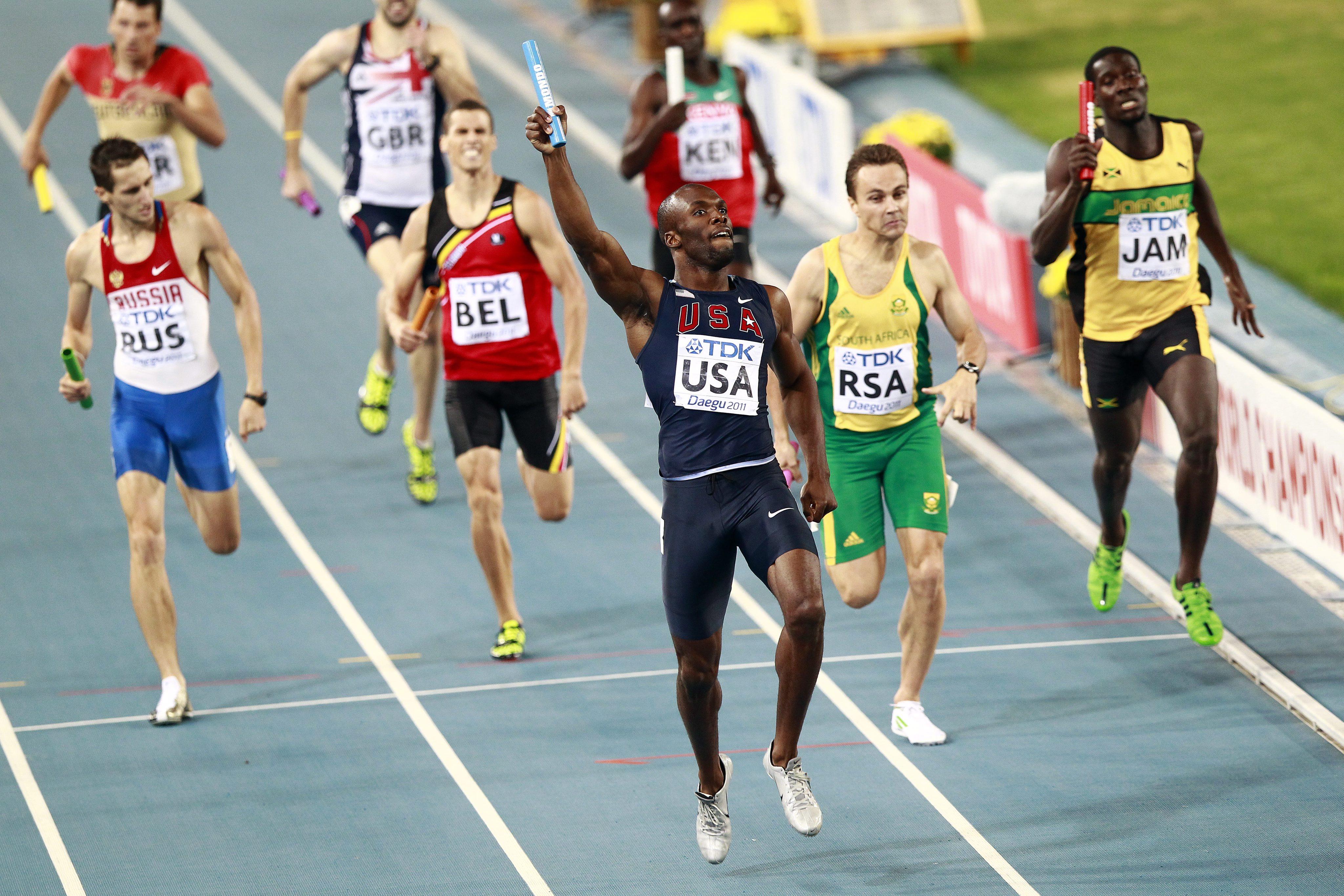 САЩ спечели щафетата на 4 по 400 метра