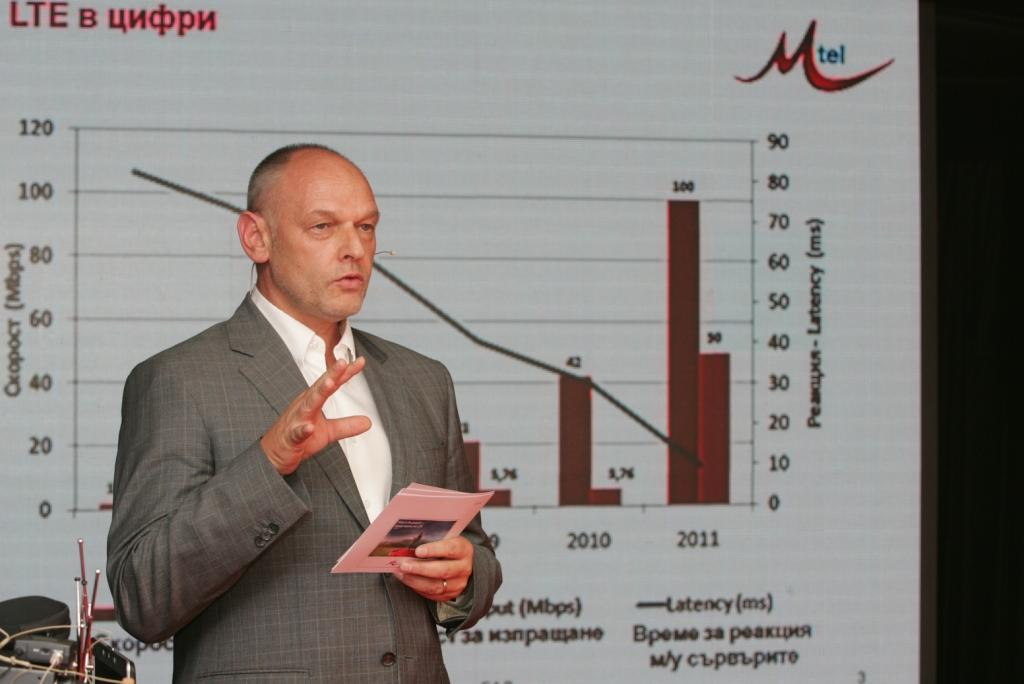 Демонстрираха 4G мрежа за 1-ви път в България