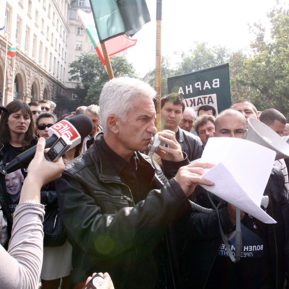 Сидеров атакува сградата на президентството заради Катуница