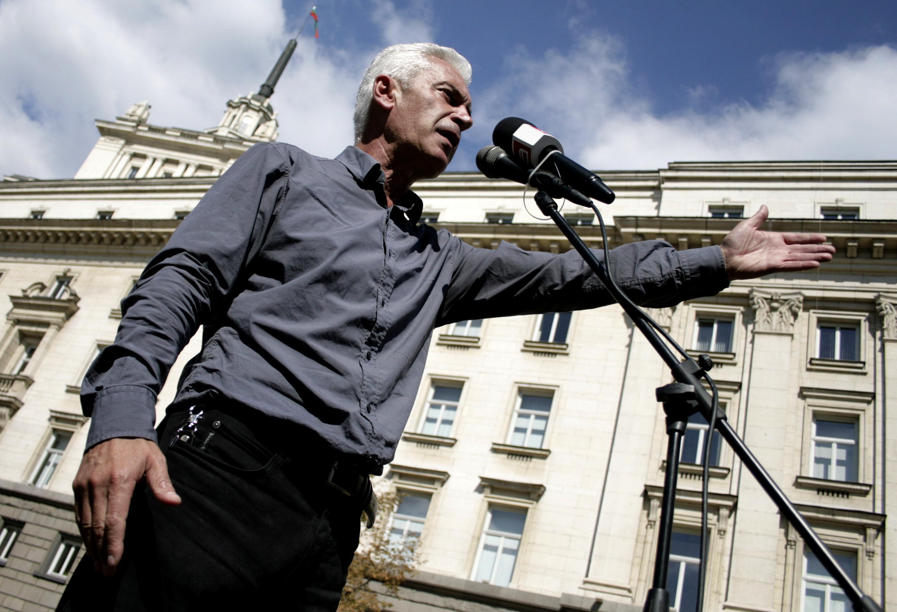 3 партии и рокери блокираха с протести София
