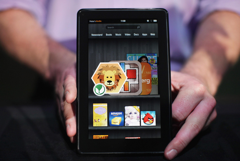 250 000 предварителни поръчки за Kindle Fire