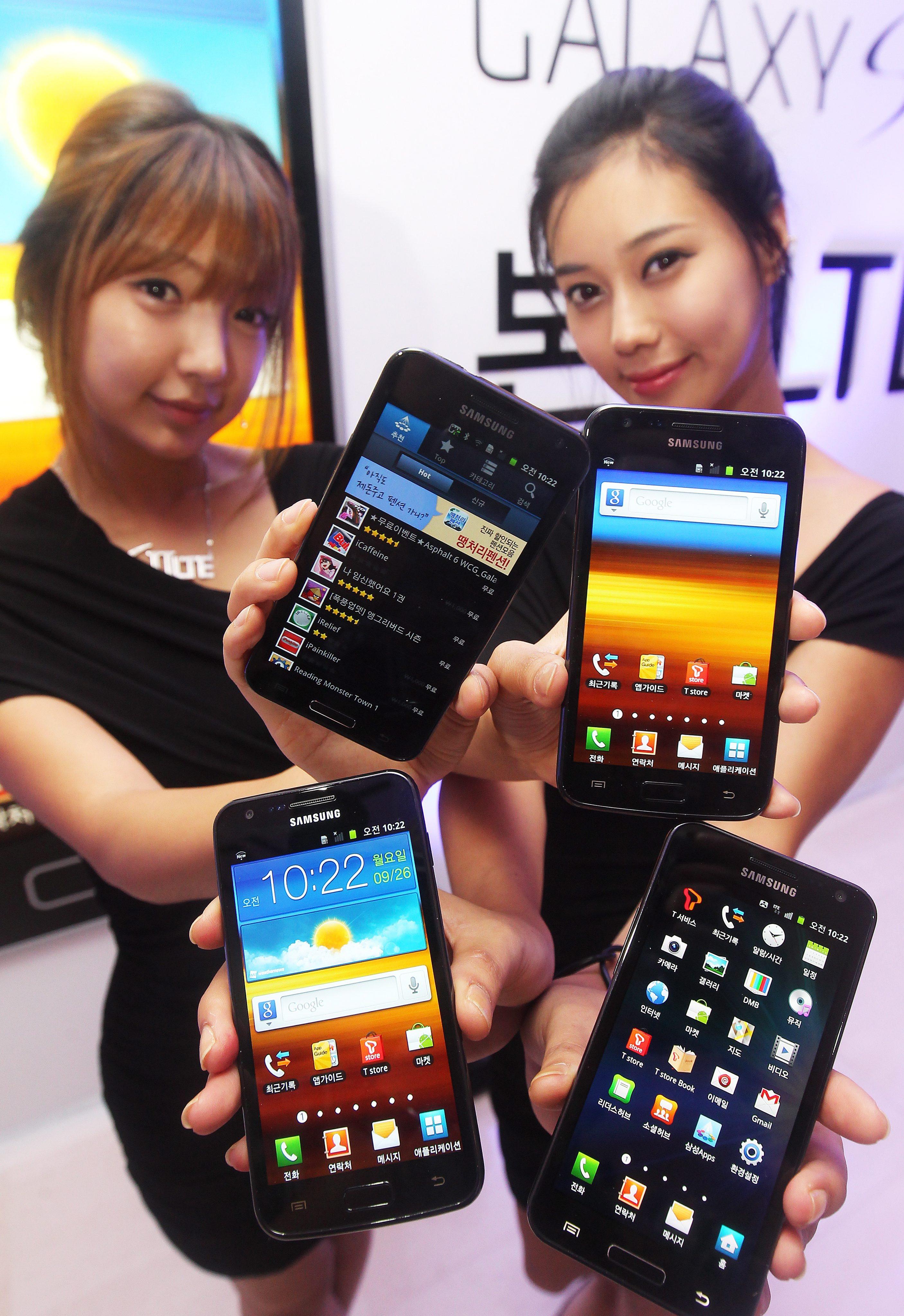 Galaxy S II е най-добрият смартфон на 2011
