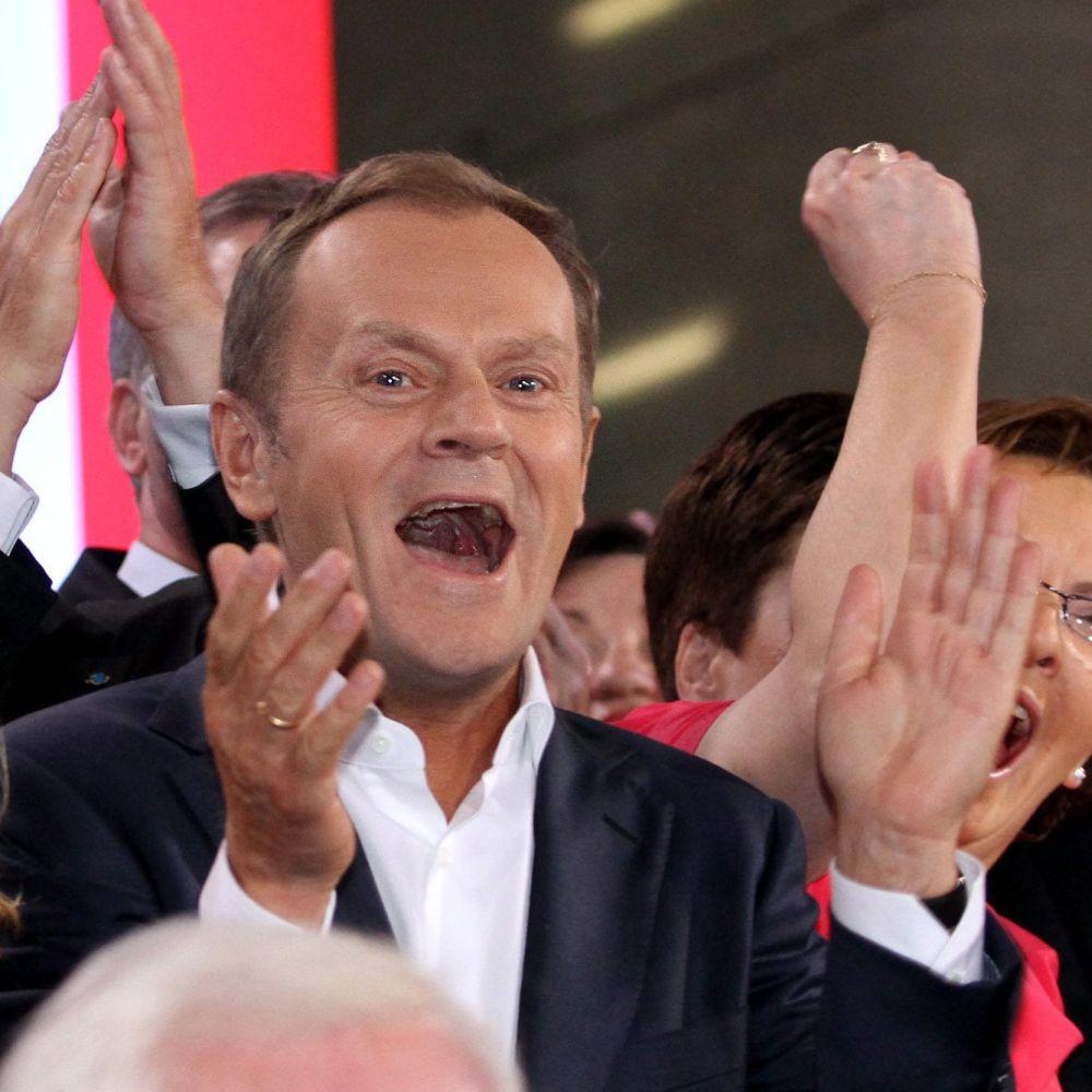 Качински не успя да измести Туск след изборите в Полша
