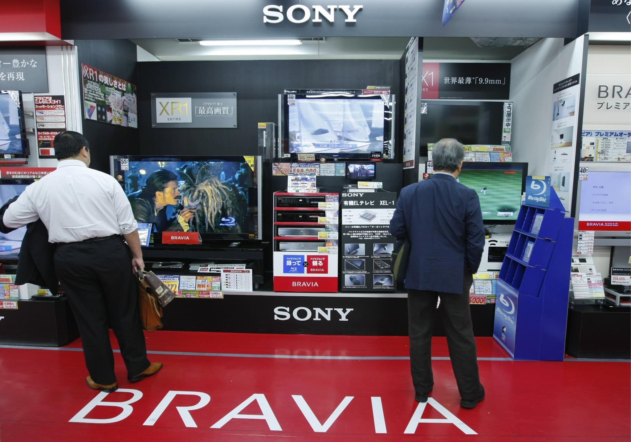 Sony изтегля 1,6 милиона LCD телевизора