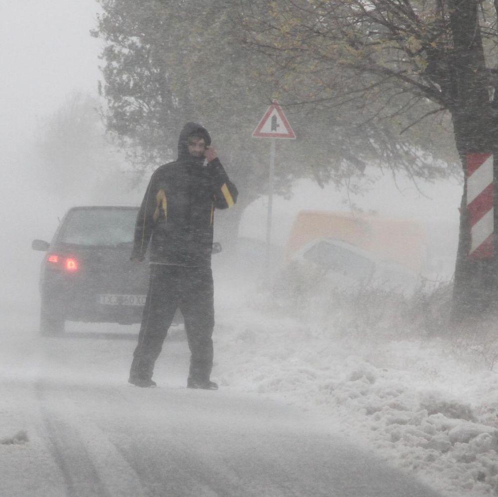 Зимата е все още в Европа