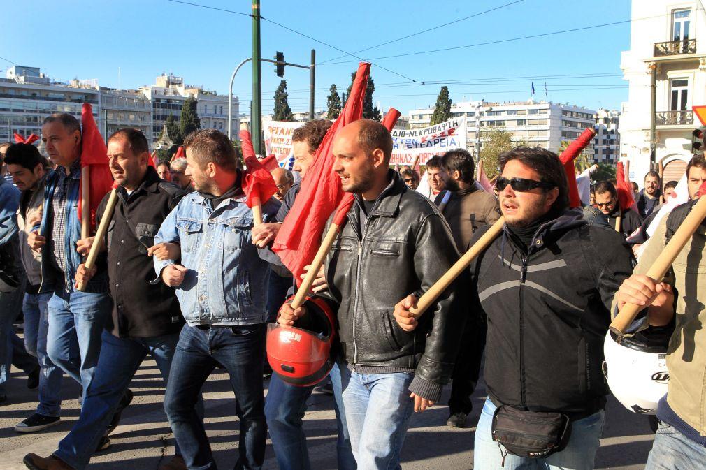 Държавните медии в Гърция стачкуват - спряха новините