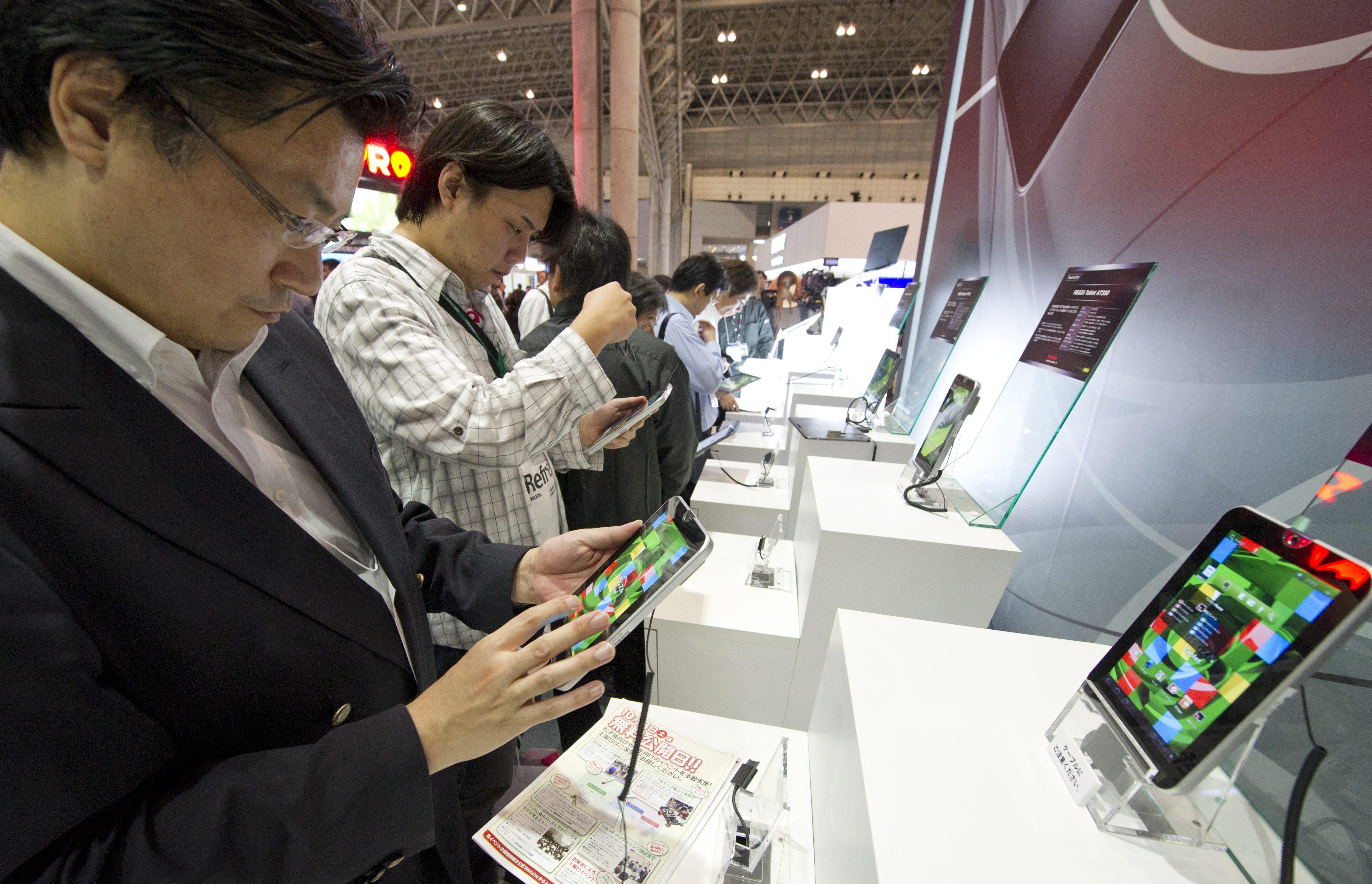 Toshiba показа дисплей с ултра висока плътност