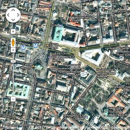 Сателитните снимки на Google - на 13 години