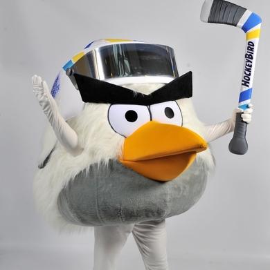 Angry Birds покорява хокея