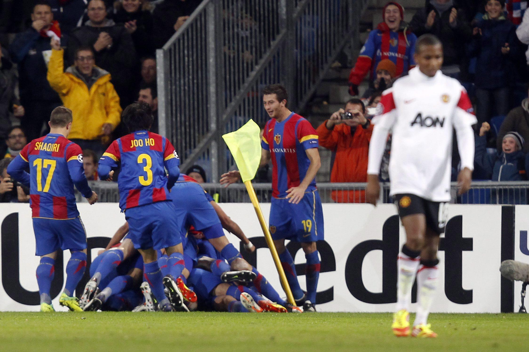 Базел прати Манчестър Юнайтед в Лига Европа!